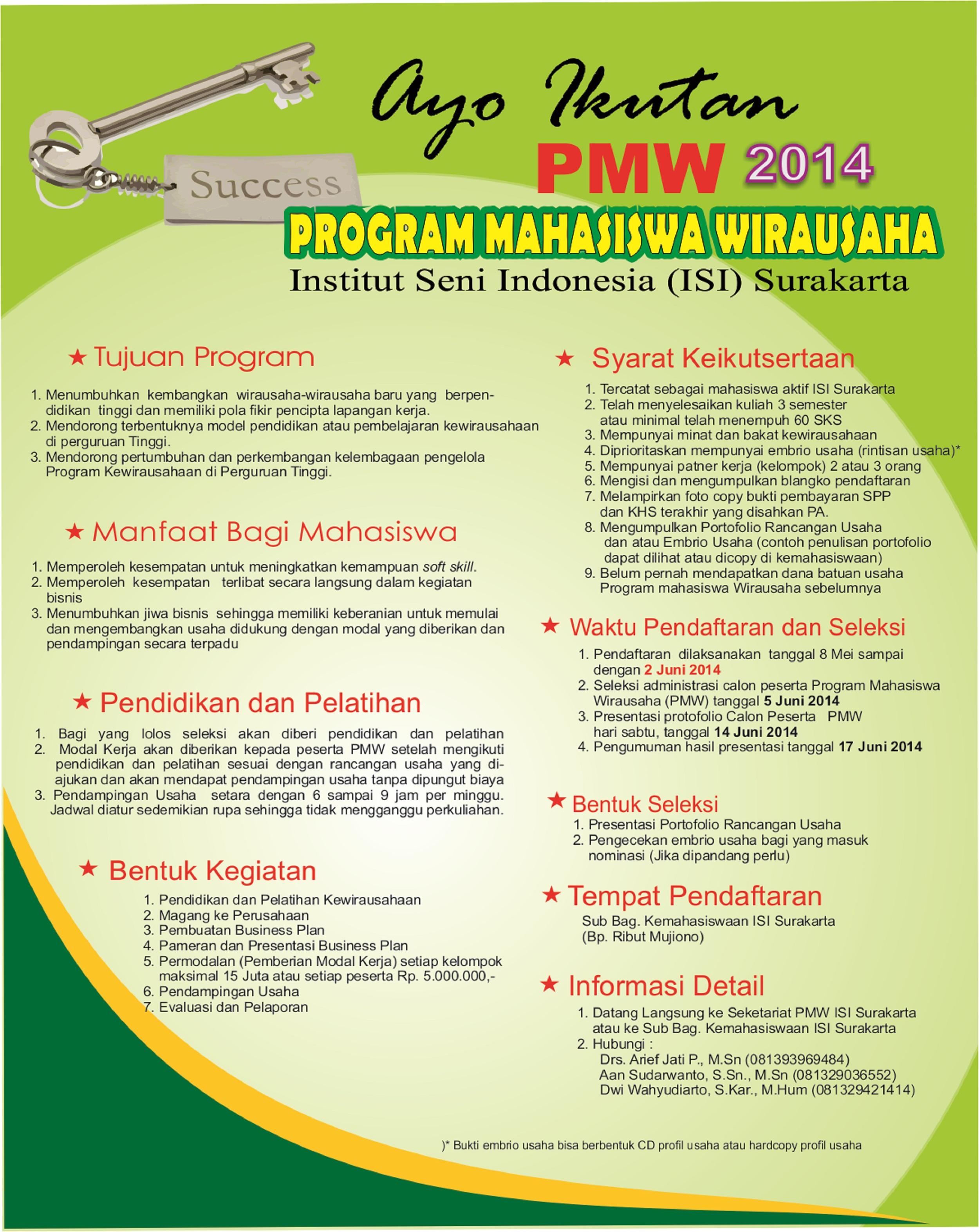 BROSUR PERSYARATAN PMW 2014-12